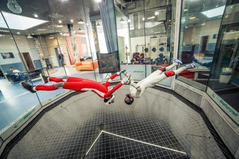 skydiving, indoor skydiving, windtunnel, Anniken Binz