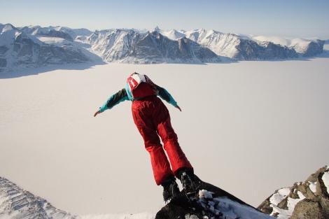Baffin Island, base jumping, Anniken Binz