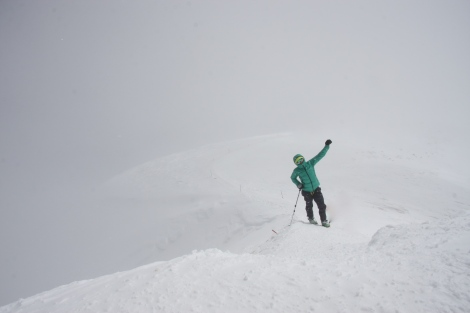 Feeling drunk- almost at the summit