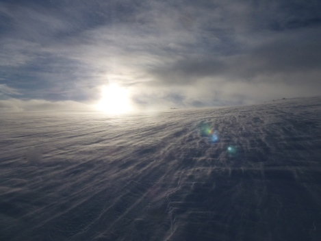 Hardangervidda, skiing, Berghaus