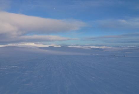 Hardangervidda, skiing, Anniken Binz
