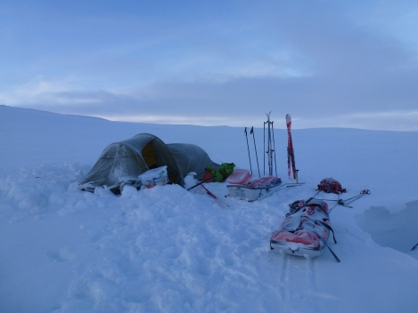 tent, camping, winter, Berghasu