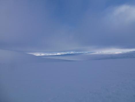 Hardangervidda, winter, skiing, Berghaus