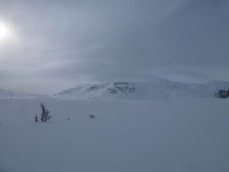 Hardangervidda, cross country skiing, pulk, winter