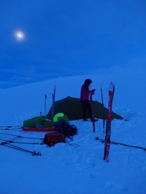tent, camping, winter, Berghaus