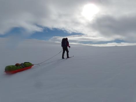 skiing, Hardangervidda, Berghaus, Anniken Binz