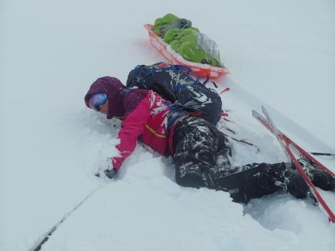 snow, skiing, Anniken Binz