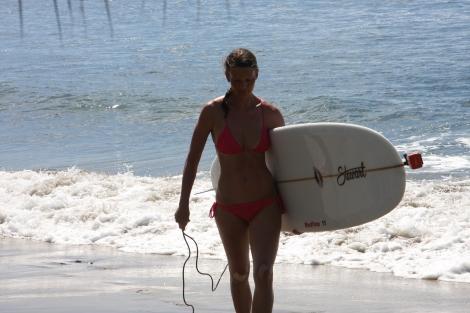 surfing, Anniken Binz, Hawaii