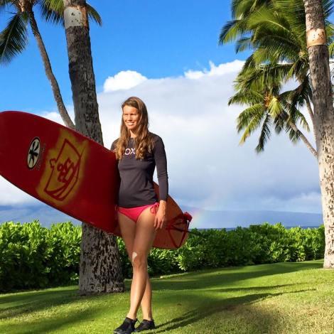 surfing, Anniken Binz, Berghaus, Hawaii