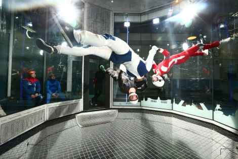 Anniken Binz, wind tunnel, indoor skydiving